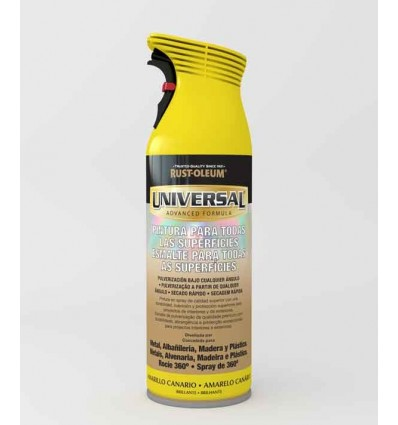 Amarillo Canario Brillante - Pintura en spray Universal Rust-Oleum Xylazel