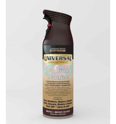 Bronce Metalizado  - Pintura en spray Universal Rust-Oleum Xylazel