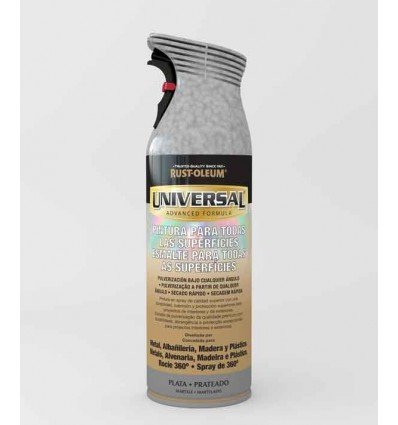 Plata Martelé - Pintura en spray Universal Rust-Oleum Xylazel