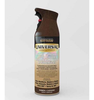 Marrón Martelé  - Pintura en spray Universal Rust-Oleum Xylazel