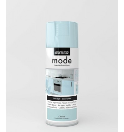 Pintura en spray Mode Rust-Oleum Celeste