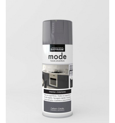 Pintura en spray Mode Rust-Oleum Carbón