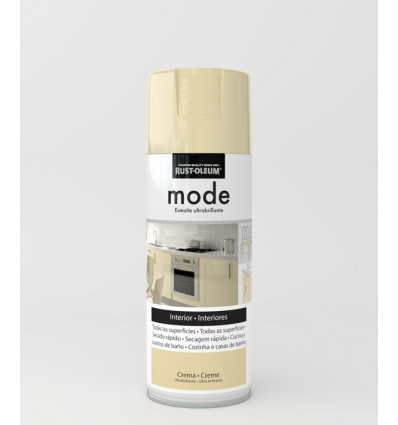 Pintura en spray Mode Rust-Oleum Crema