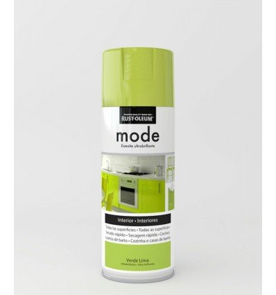 Pintura en spray Mode Rust-Oleum Verde Lima