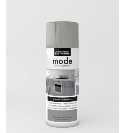 Pintura en spray Mode Rust-Oleum Gris Acero