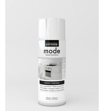 Pintura en spray Mode Rust-Oleum Blanco