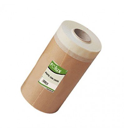 Papel con cinta PintaRapid – Kraft 1ª