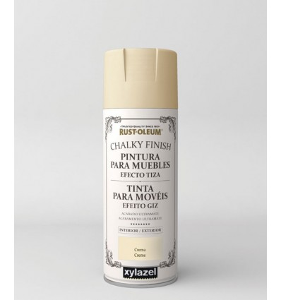 Pintura spray efecto tiza Chalky Finish Rust Oleum
