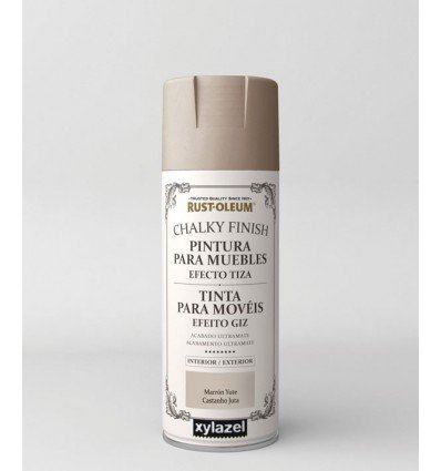 Pintura spray efecto tiza Chalky Finish Rust Oleum