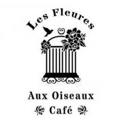 Plantilla de estarcido Les Fleures