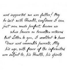 Plantilla estarcido Letter