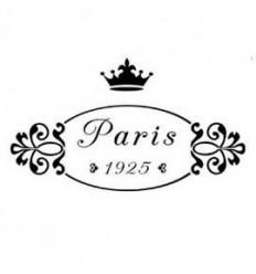 Plantilla estarcido París