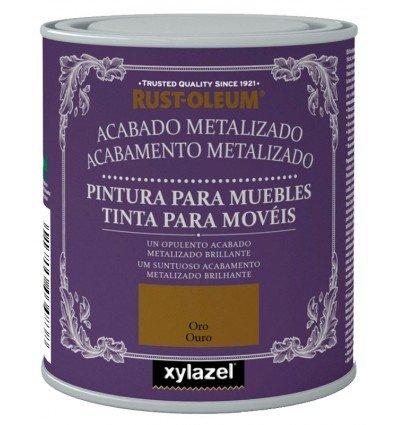 Pintura para Muebles Xylazel Acabado Metalizado