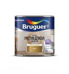 Pintura efecto metalizada objetos Bruguer