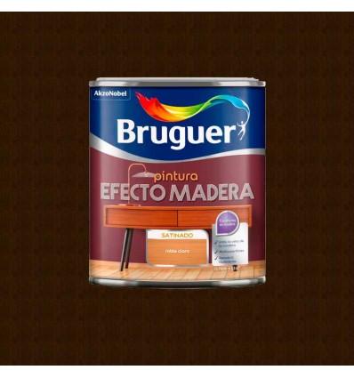 Nogal Oscuro - Pintura efecto madera Bruguer