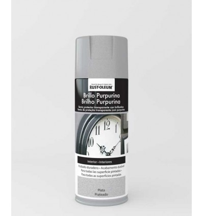 Pintura en spray Brillo Purpurina Rust-Oleum Xylazel