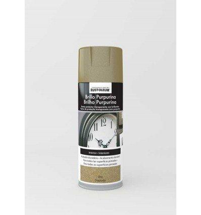 Pintura en spray Brillo Purpurina Rust-Oleum Xylazel