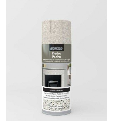 Piedra Decolorada - Pintura en spray Piedra Rust-Oleum Xylazel