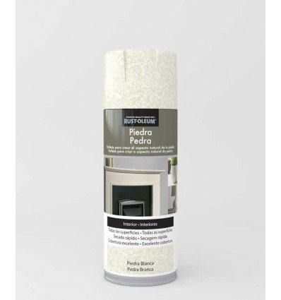 Piedra Blanca - Pintura en spray Piedra Rust-Oleum Xylazel