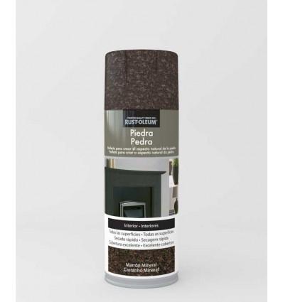 Marrón Mineral - Pintura en spray Piedra Rust-Oleum Xylazel