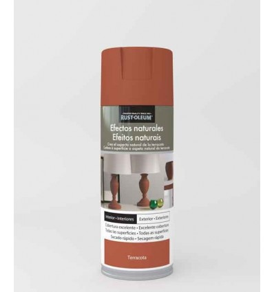 Terracota - Pintura en spray Efectos Naturales Rust-Oleum Xylazel