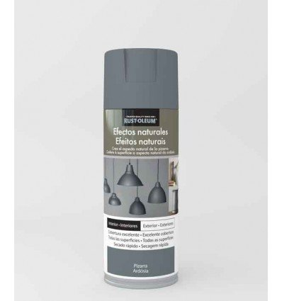 Pizarra - Pintura en spray Efectos Naturales Rust-Oleum Xylazel