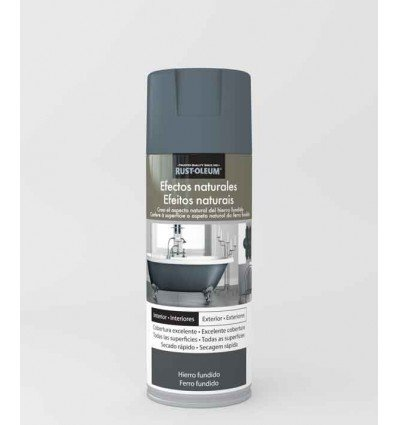 Hierro fundido - Pintura en spray Efectos Naturales Rust-Oleum Xylazel