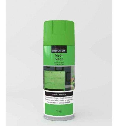 Verde - Pintura en spray Neón Rust-Oleum Xylazel