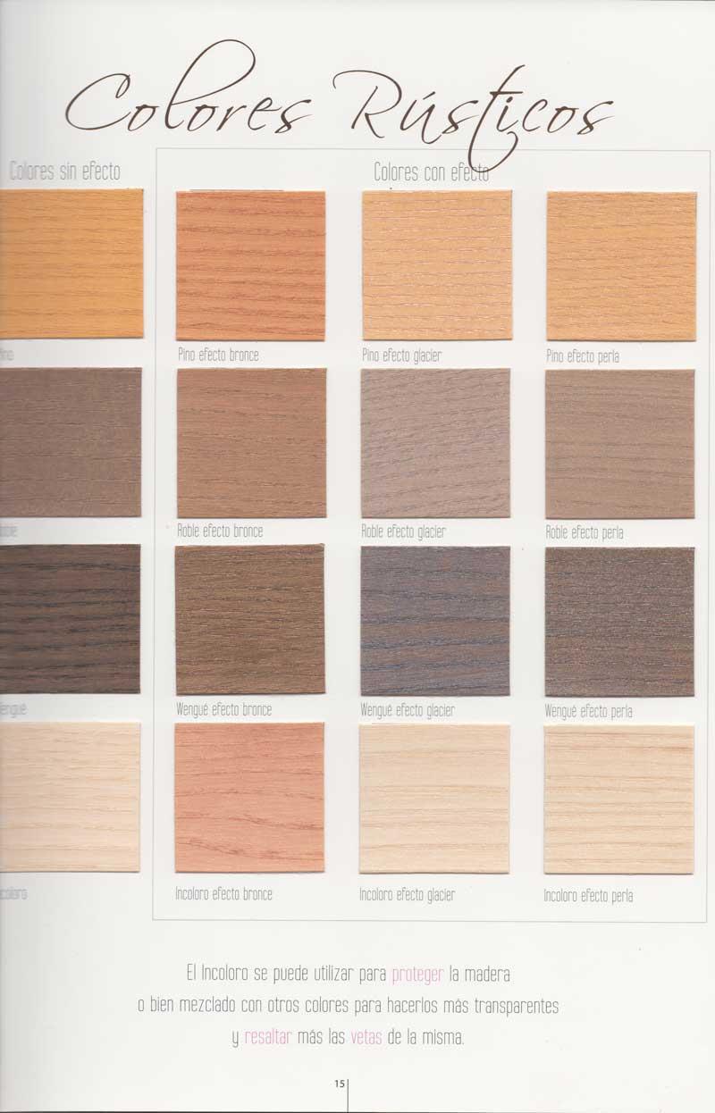Deco Lasur - colores rústicos