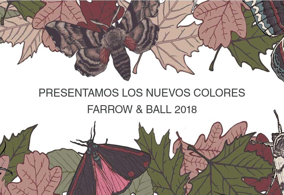 Farrow and Ball - Nuevos colores