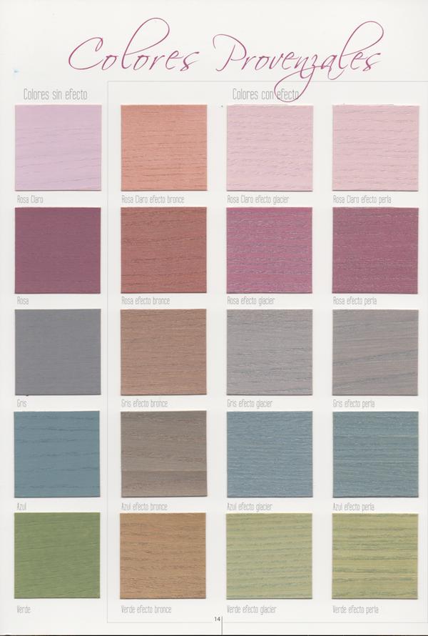 Deco Lasur - Colores provenzales